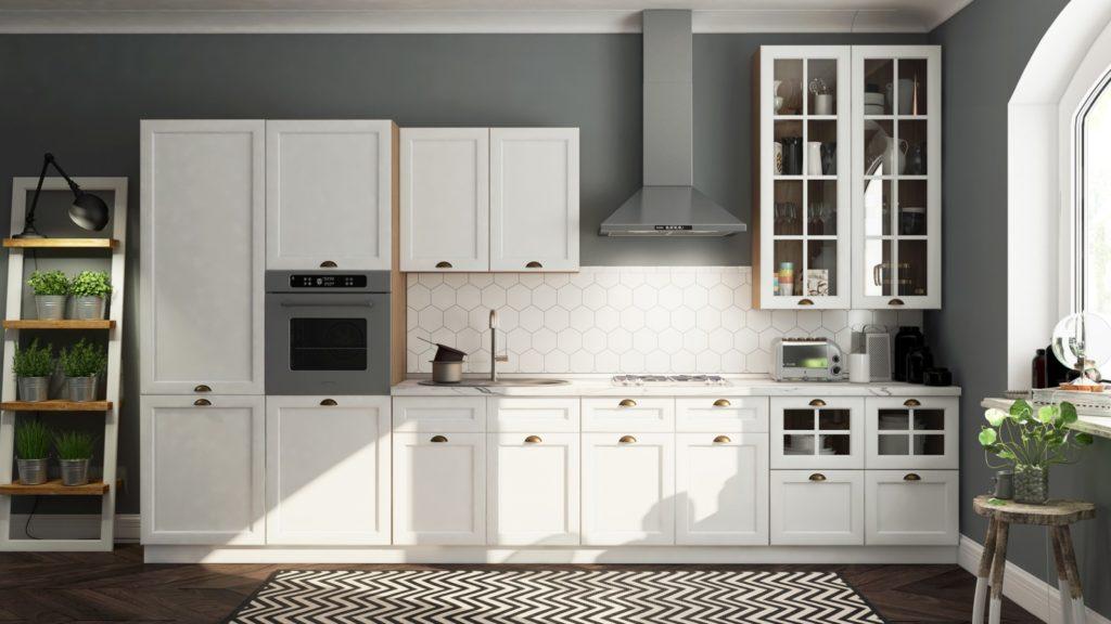 Проект кухни в скандинавском стиле